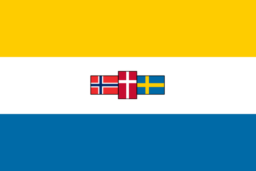 South African Style Nordic Flag by zalezsky