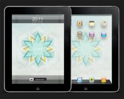 Flake: iPad Wallpaper Set by fudgegraphics