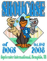 Showcase of Dogs Poster 2008 by andrewchandler80