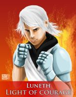 Luneth: Light Of Courage by shizonek