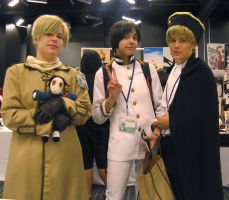 Otakuthon 2010 Hetalia Axis 3 by WhimsicalArtisan