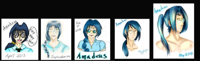 Amadeus Through The Years #5 by TheGeniusAmadeus