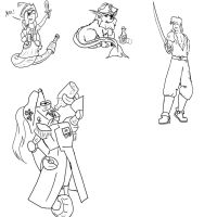 Livestream Doodles 7-31-13 by Starfighterace-421