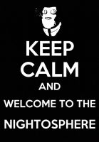 Just Keep Calm and Welcome to the Nightosphere by CortosALaMex