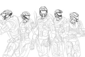 Halo: Welcome Quiver WIP by Guyver89