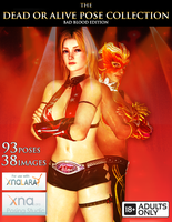 DOA Pose Collection (Bad Blood Edition) by IKeelYou457