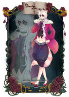 CdR Masquerade: Alice In The Wonderland by Kuro-Q