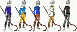 Jack Frost VG Outfit Designs by ShleyAay-123