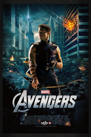 The Avengers: Hawkeye | Theatrical Poster by Squiddytron
