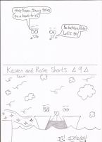 Kaven and Rose Shorts - 9 by DazzyDrawingN2