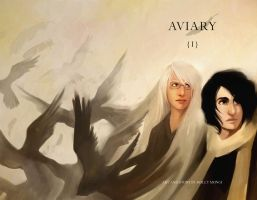 Aviary issue 1 cover by Luthie13