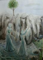 the Spirits of water by themuseofhistory