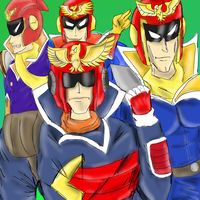 Falcon gang by teamspike1