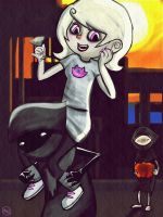 Homestuck - Roxy doodle by MelSpontaneus