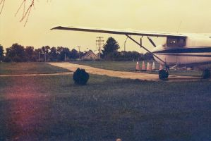 1961 Cessna 172C Waiting by Ryan-Warner