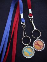 TF2 Team Fortress 2 Engineer Lanyards by Monostache