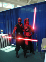 Darth Maul and Darth Talon by Theo-Kyp-Serenno
