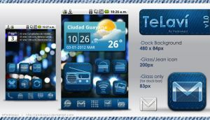 TeLavi Android Icon Set by pedroxqui