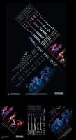ISUDance Poster and table tent by Viper93000