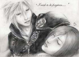 Cloud and Tifa by WadeVesecha