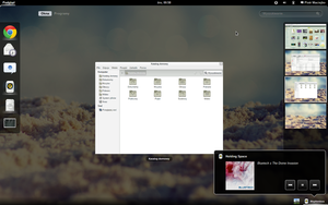 Clean GNOME Shell by Savpether