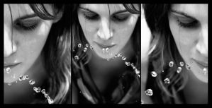 Aimee - Triptych 1 by Tomcita