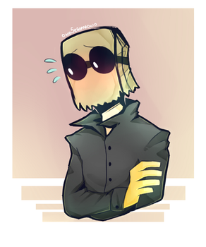 [Villainous] Flug wearing black T-shirt by owoSesameowo