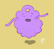 AT: Lumpy Space Princess by diav