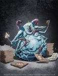 Rotund Hungry Alien Queen by feeesh
