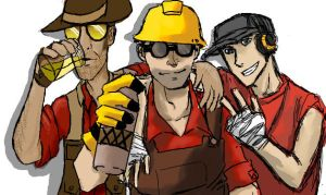 TF2: Best Buddies by pinappleapple