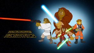 LKHFF Wallpaper Star Wars Style by BennytheBeast