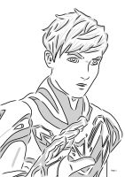 Max Steel Linart by canasson27