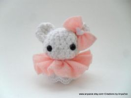 Polar Bear amigurumi by AnyaZoe