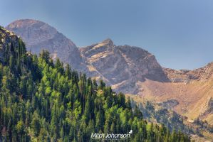 Zoomed in Wasatch Back by mjohanson