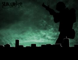The Slaughter by Shamsul007