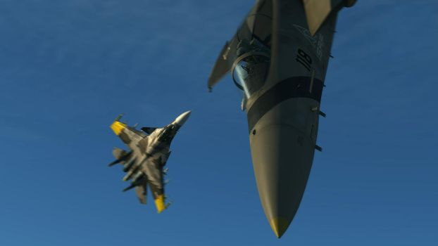Dogfight with Mobius One by BillyM12345
