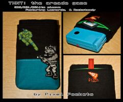 TMNT:arcade game 3ds sleeve by eternalrequiem