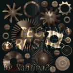 TECHNO-Brushes by Xantipa2