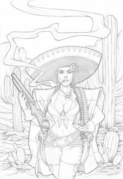 Westward Ho'! in Pencil by BillMcKay