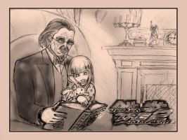 Little Lili and Sebastian by Sciff3