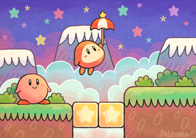 Kirby in Dream Land by Paleona
