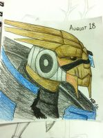 DS August 18 - Garrus by modestmonster