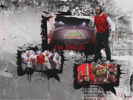 Jim Tressel Wallpaper by KevinsGraphics