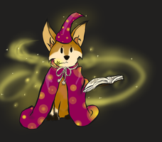 Halloween fox Adopt auction - end - by Naeezadopts
