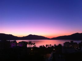 Sunrise over Marmaris, TR 2 by Navvyblue