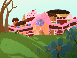 Hansel and Gretel: The Candy Castle by halfeatencandybars