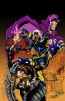 X-Men Redux by Blindman-CB