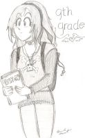 My first day of 9th grade by Hamncheese95
