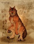 The Red Wolf by soulspoison