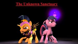 ff cp The Unknown Sanctuary with Titel by Elythespidermare